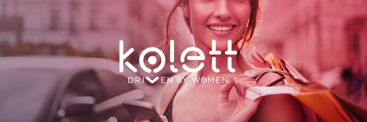 Kolett, l'appli VTC pour les femmes conduites par des femmes